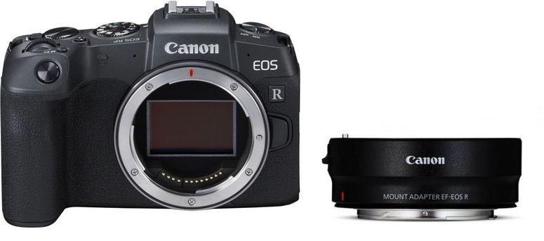 Canon EOS RP Gehäuse + Adapter EF-EOS R