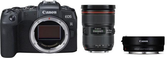 Canon EOS RP Gehäuse + Adapter EF-EOS R + EF 24-70mm f2.8 L II USM