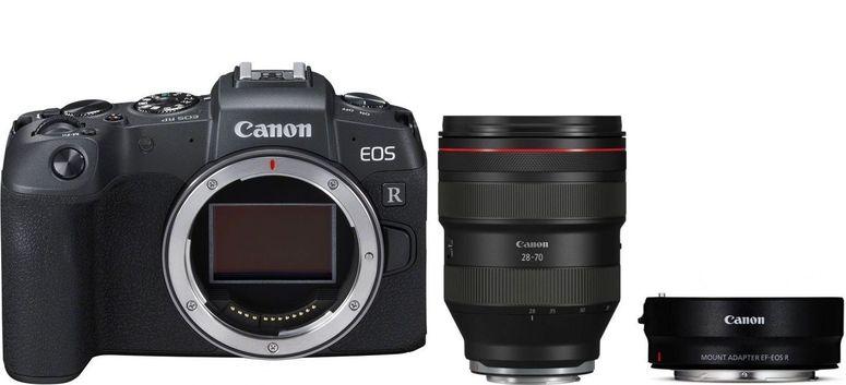 Canon EOS RP Gehäuse + Adapter EF-EOS R + RF 28-70mm f2 L USM