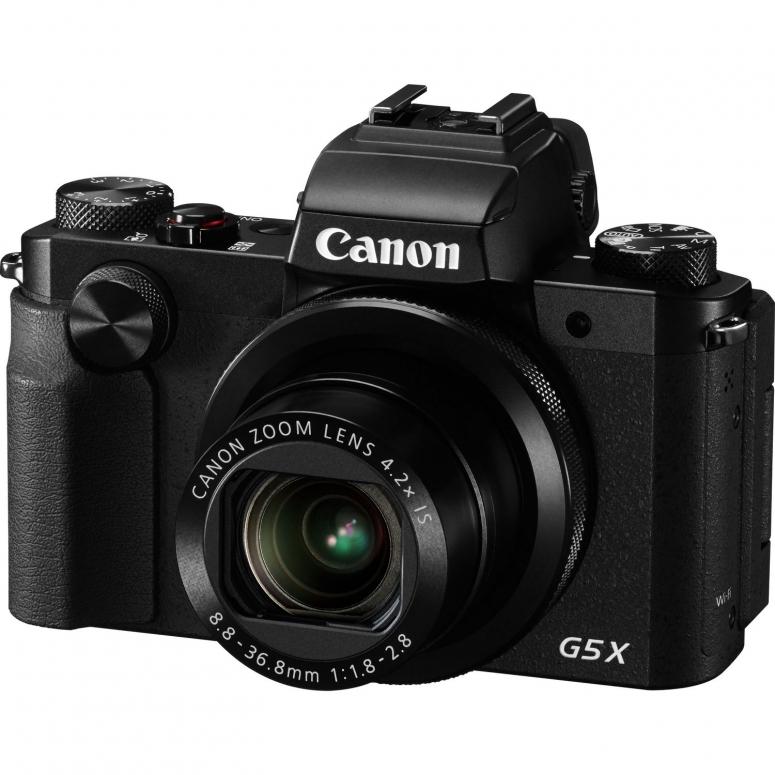 Canon PowerShot G5X inkl. Canon DCC 1850 + 32 GB SD Karte