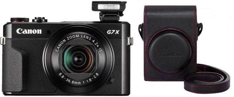 Canon PowerShot G7X Mark II + DCC-1880 Tasche