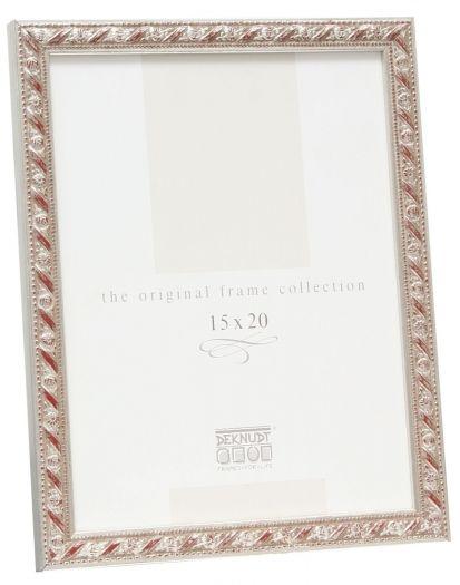 Deknudt S95GD5 Barockrahmen 13x18 cm silber