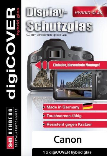 digiCover hybrid Glas Canon EOS 200D