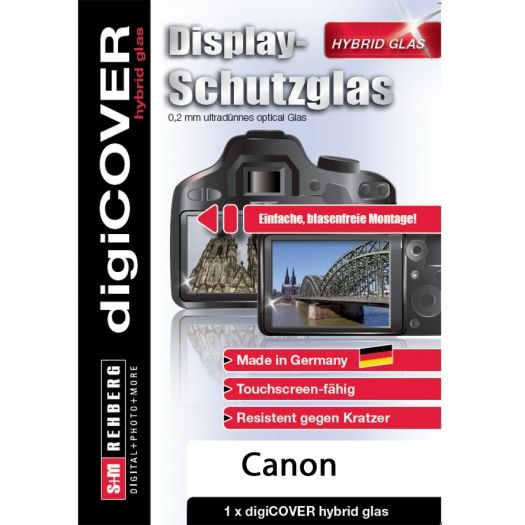 digiCover hybrid Glas Canon EOS 6D