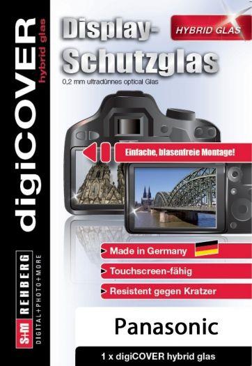 digiCover hybrid Glas Panasonic DMC-FZ82/FZ83