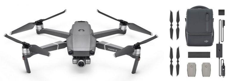 DJI Mavic 2 Zoom + Smart Controller + Fly More Kit