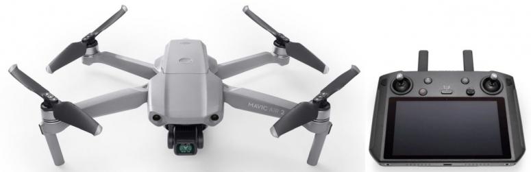 DJI Mavic Air 2 Fly More Combo + Smart Controller