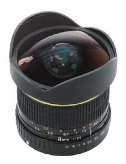Dörr Fisheye 8mm 1:3,5 Nikon