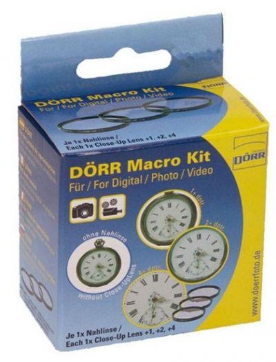 Dörr Macro Kit 62mm (+1,+2,+4 Diptr.)