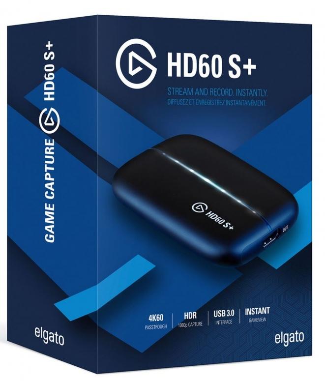 Elgato Game Capture HD60 S+ Rekorder