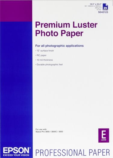 Epson Photo Paper Luster A2