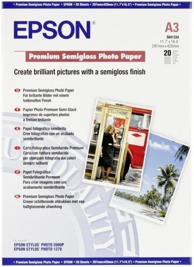 Epson Premium Photo Papier A3 semiglossy