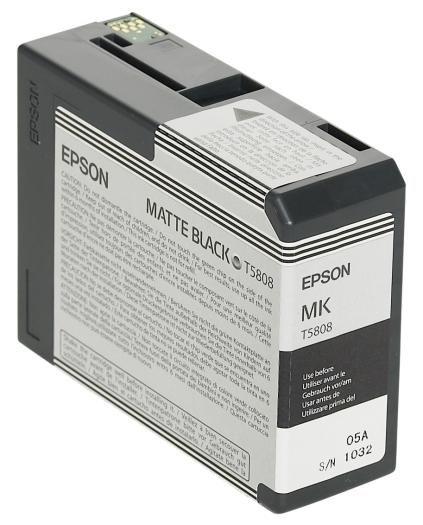 Epson Tinte Black Matte T5808