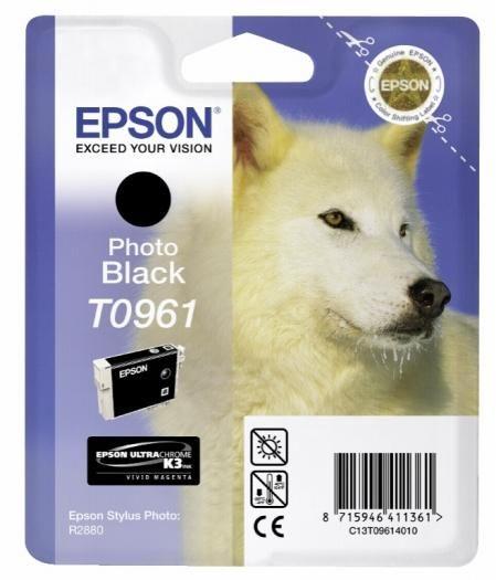 Epson Tinte black T0961