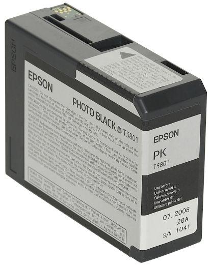 Epson Tinte Black T5801