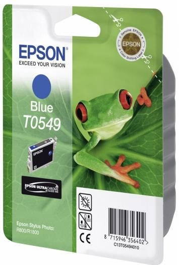 Epson Tinte blue T0549