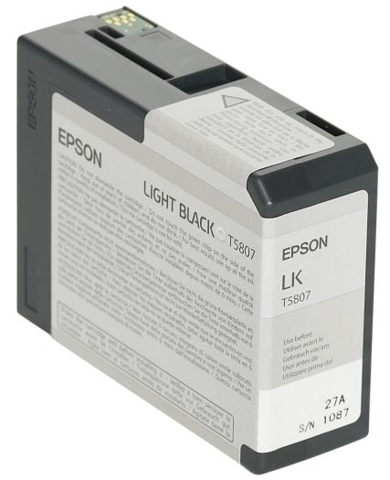 Epson Tinte Light Black T5807