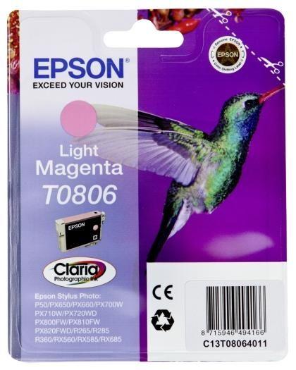 Epson Tinte light-magenta T0806
