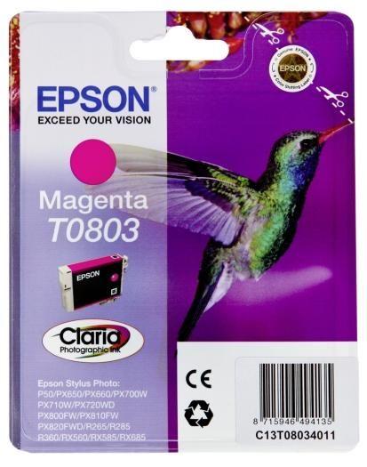 Epson Tinte magenta T0803