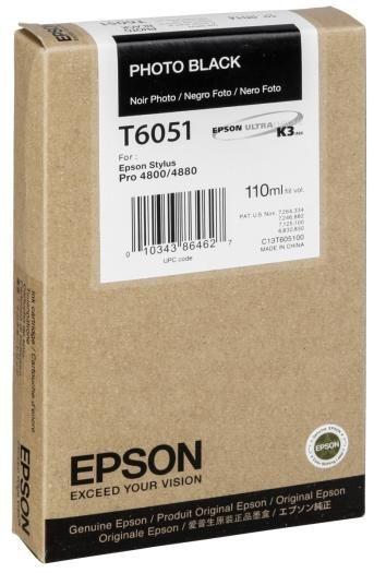 Epson Tinte photo black T6051