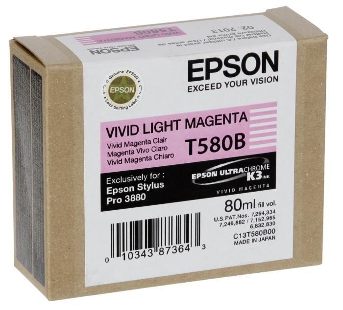 Epson Tinte Vivid-light Magenta T580B