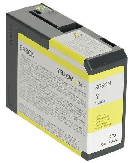 Epson Tinte Yellow T5804