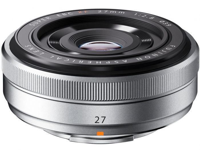Fujifilm XF-27mm f2,8 silber PH
