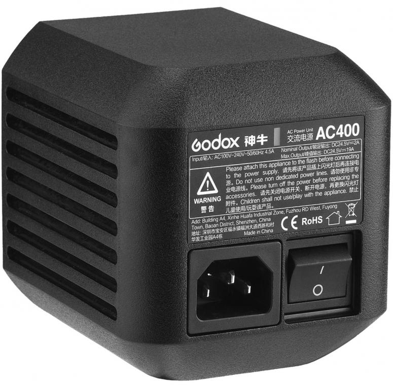 Godox AC400 AC Adapter für AD400 Pro