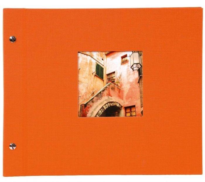 Goldbuch 26 899 Schraubalbum Bella Vista orange