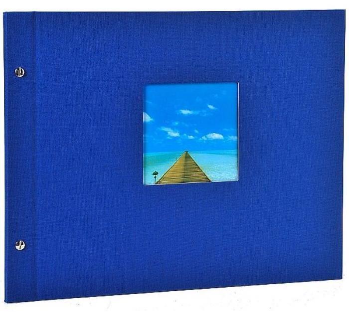 Goldbuch Schraubalbum Bella Vista Blau 26 895 30x25cm