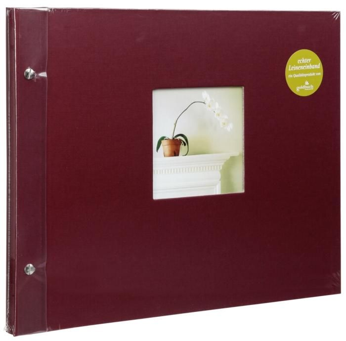 Goldbuch Schraubalbum Bella Vista Bordeaux 28 892