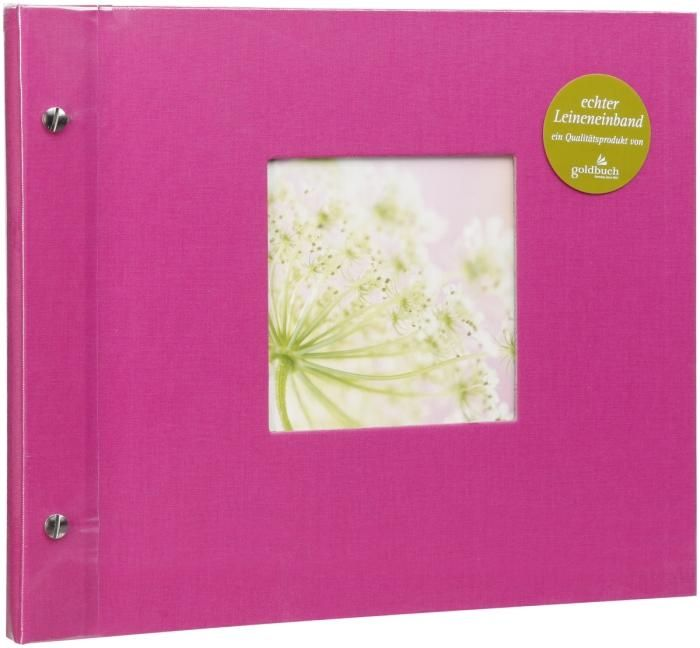 Goldbuch Schraubalbum Bella Vista Pink 26 978 30x25cm