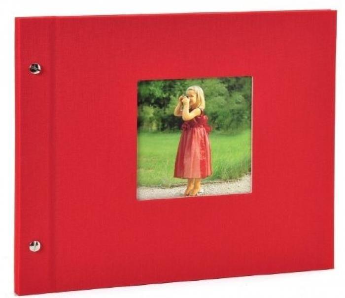 Goldbuch Schraubalbum Bella Vista Rot 26 890 30x25cm