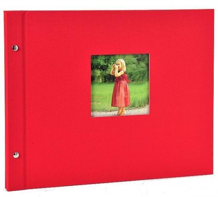 Goldbuch Schraubalbum Bella Vista Rot 28 984 39x31
