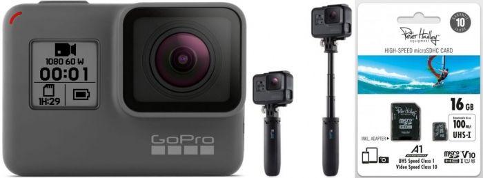 GoPro HERO + GoPro Shorty + Peter Hadley 16GB microSDHC