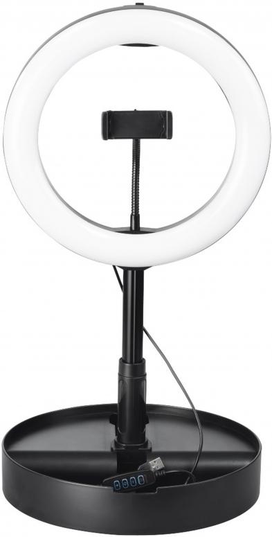 Hama LED-Ringleuchte SpotLight FoldUp 102 Set für Smartphones
