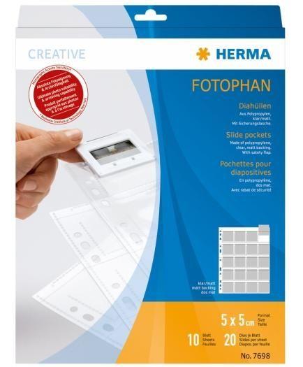 Herma Diahüllen für 5x5 7698