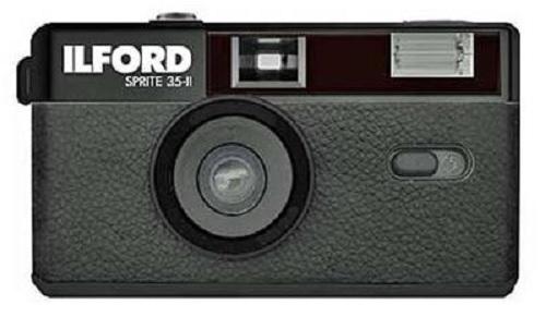 Ilford Sprite 35-II Kamera schwarz