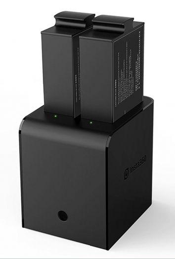 INSTA 360 Pro Ladegerät f. 2 Akkus
