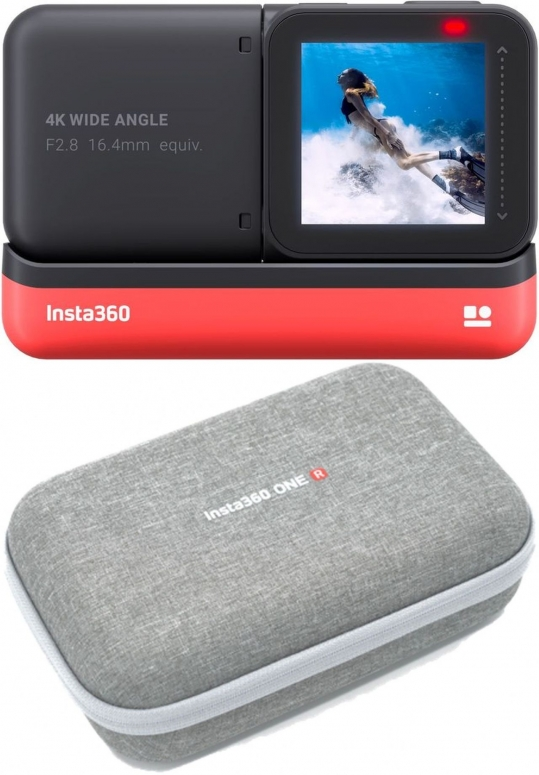 INSTA360 ONE R 4K Edition + Aufbewahrungs-Tasche