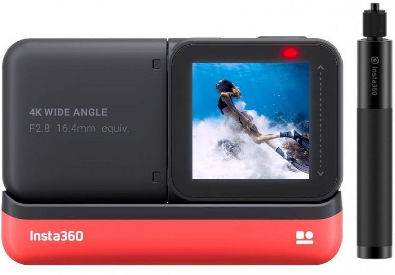 INSTA360 ONE R 4K Edition + Selfie Stick (70cm)