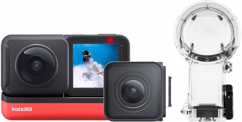 INSTA360 ONE R Twin Edition + Dual-Lens Dive Case