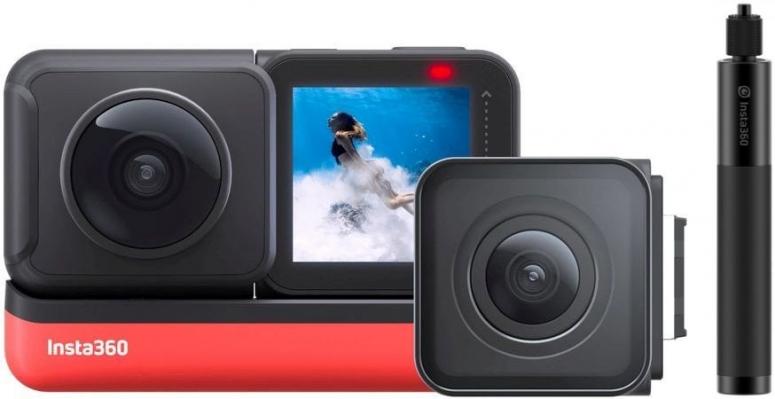 INSTA360 ONE R Twin Edition + Selfie Stick (70cm)