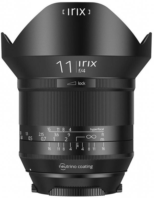 Irix 11mm f4,0 Blackstone Canon