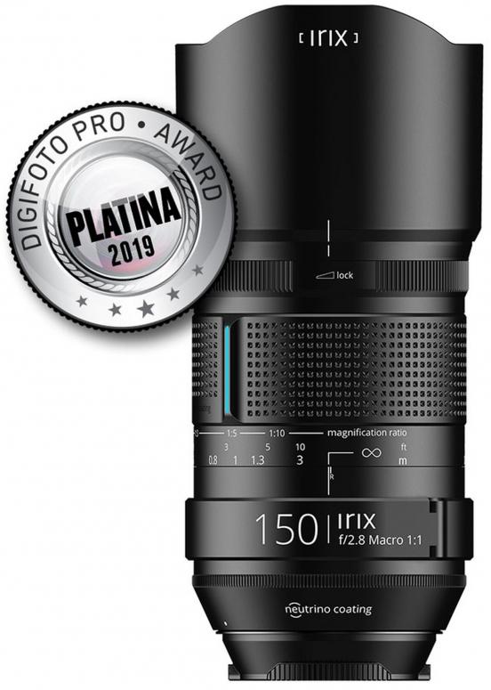 Irix 150mm f2,8 Macro 1:1 Dragonfly Nikon
