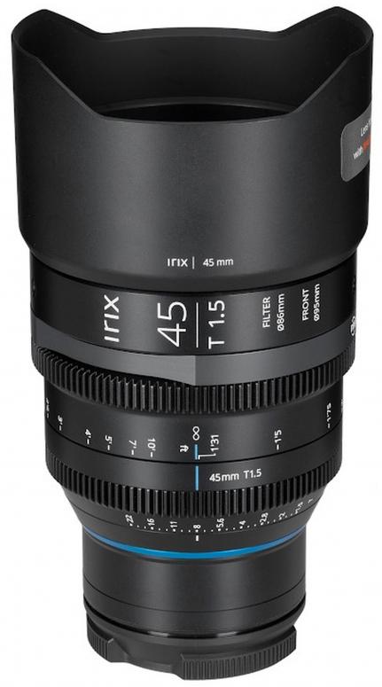 Irix Cine 45mm T1.5 Nikon Z