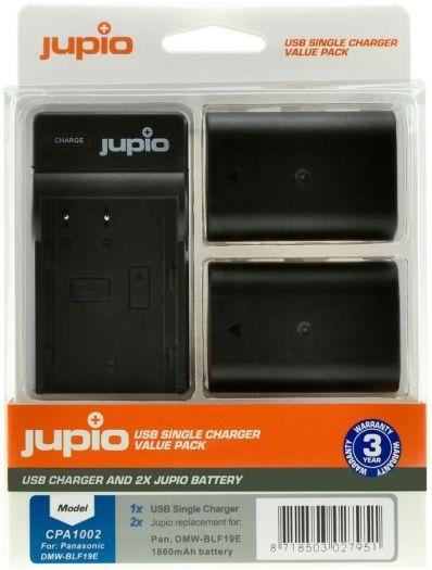 Jupio Kit DMW-BLF19E + Single Charger