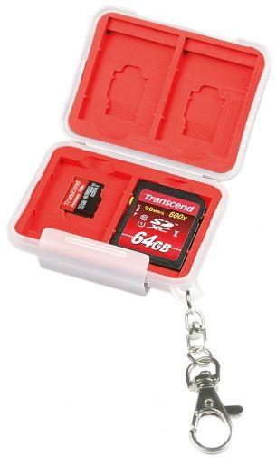 Kaiser 6492 Speicherkartenbox für 4 SD- und 4 microSD-Karten