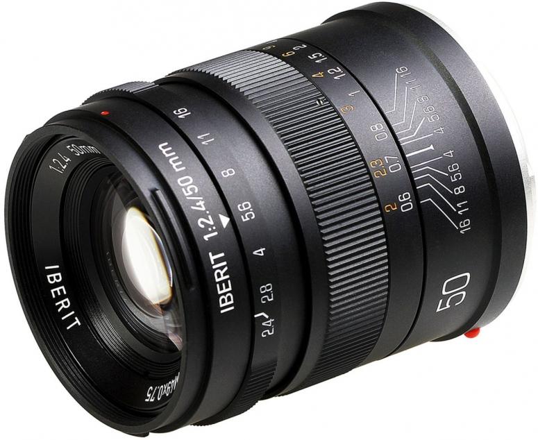 Kipon Iberit 50mm f2,4 Vollformat Fuji X