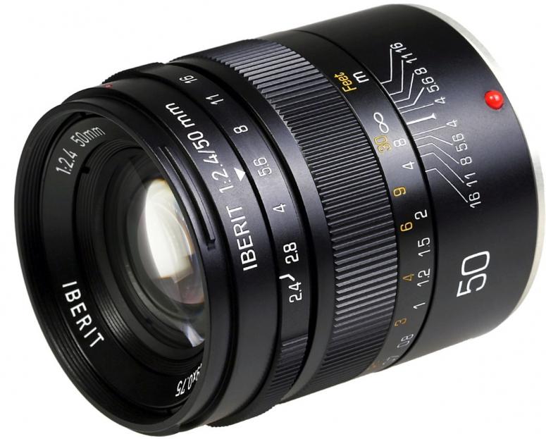 Kipon Iberit 50mm f2,4 Vollformat Sony E